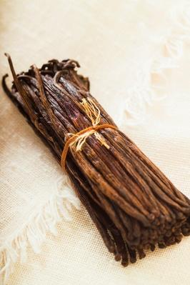 Close-Up of a Bundle of Vanilla Beans | Earth's Resources