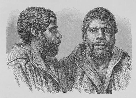 William Lanney, the last Tasmanian, from 'The History of Mankind', Vol.1, by Prof. Friedrich Ratzel, 1896