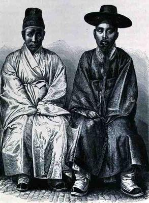Koreans, from 'The History of Mankind', Vol.III, by Prof. Friedrich Ratzel, 1898