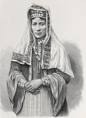 A Kurdish woman, from 'The History of Mankind', Vol.III, by Prof. Friedrich Ratzel, 1898
