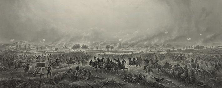 Repulse of Longstreet's Assault, 1863 | Ken Burns: The Civil War