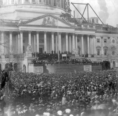 Inauguration of Abraham Lincoln, 1861 | Ken Burns: The Civil War