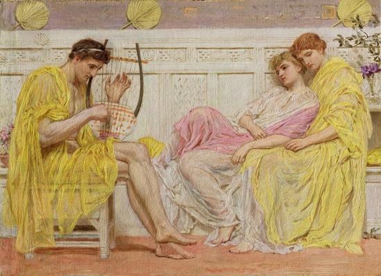 A Musician, c.1867