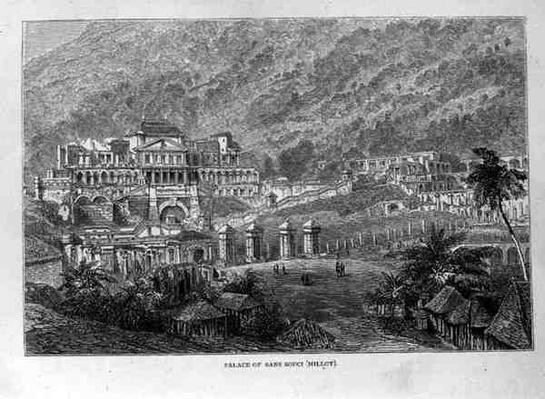 Palace of Sans Souci, North Hayti, from 'Santo Domingo Past and Present' by Samuel Hazard, pub. in 1873