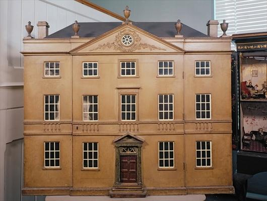 Doll's house, Neo-Classical Adam Style, c.1810