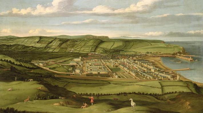 Whitehaven, Cumbria, Showing Flatt Hall, c.1730-35