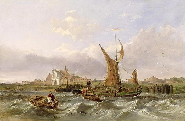 Tilbury Fort - Wind Against the Tide, 1853