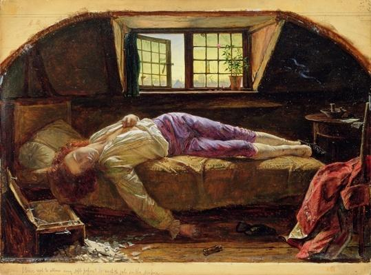 The Death of Chatterton, c.1856