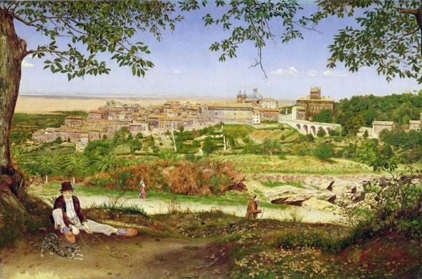 Ariccia, Italy, 1860