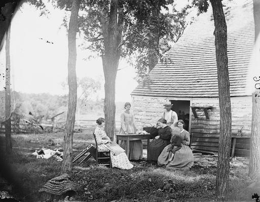 Family Group, Cedar Mountain, VA | Ken Burns: The Civil War