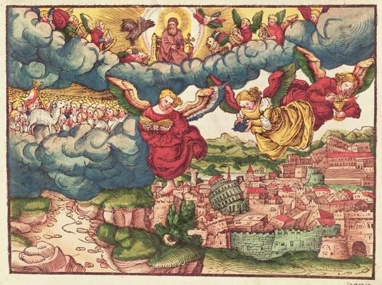 Last Judgement, from the Luther Bible, c.1530