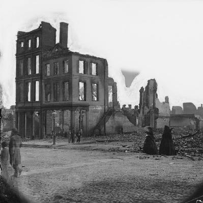 Two Women in Black, Richmond, 1865 | Ken Burns: The Civil War
