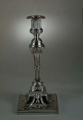 Candlestick by George Ashforth and Co., 1774