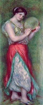 Dancing Girl with Tambourine, 1909