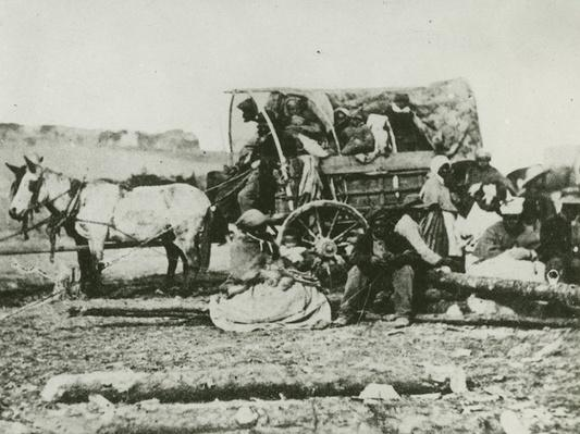Slave Family In Wagon, 1863 | Ken Burns: The Civil War
