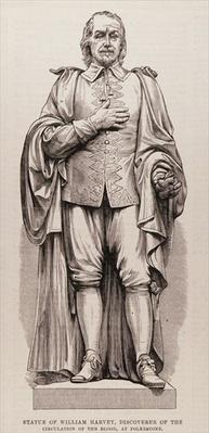 Statue of William Harvey