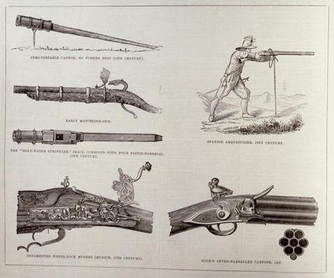 The Gun and its Development, from 'The Illustrated London News', 17th September 1881