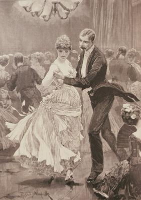 The Squire's Ball, from 'The Illustrated London News', 3rd June 1886