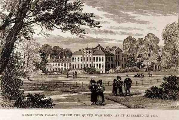 Kensington Palace, where the Queen was Born, as it Appeared in 1831, from 'The Illustrated London News', 19th June 1886
