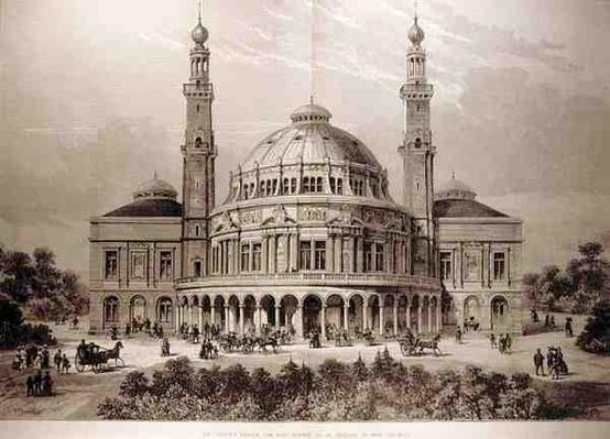 The People's Palace for East London, to be Erected in Mile End Road, from 'The Illustrated London News', 26th June 1886
