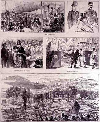 Jubilee Festival at Pontypool, Monmouthshire, on Easter Monday: The Eisteddfod, from 'The Illustrated London News', 16th April 1887