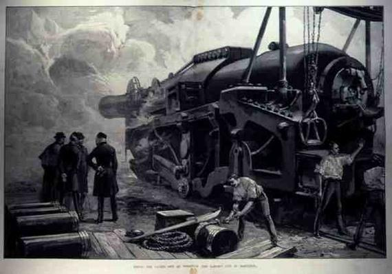 Firing the 111-Ton at Woolwich