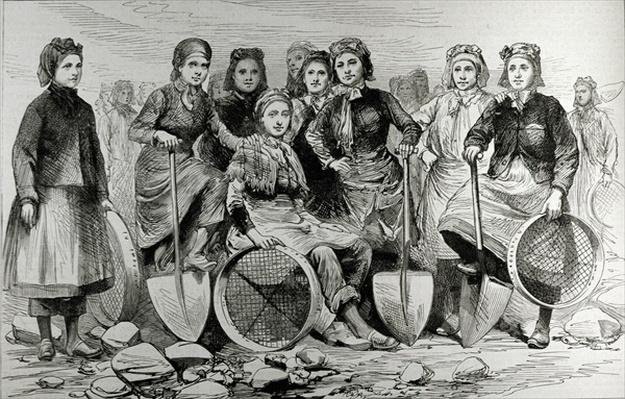 Lancashire Pit-Brow Women, from 'The Illustrated London News', 28th May 1887