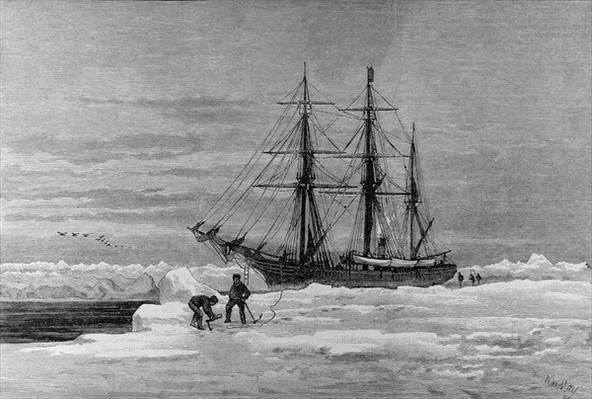 Arctic Exploration: The Eira, Mr Leigh Smith's Yacht, from 'The Illustrated London News', 7th January 1882