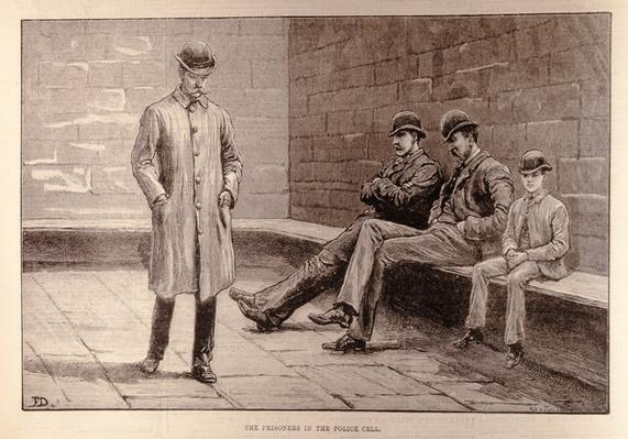 The State of Ireland: The Prisoners in the Cell, from 'The Illustrated London News', 7th January 1882