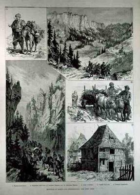 Sketches in Bosnia and Herzegovina, from 'The Illustrated London News', 18th February 1882