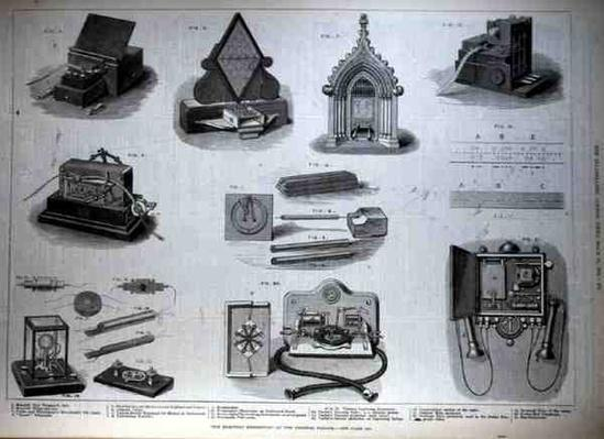 The Electric Exhibition at the Crystal Palace, from 'The Illustrated London News', 18th March 1882