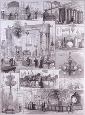 The International Electric Exhibition at the Crystal Palace, from 'The Illustrated London News', 3rd April 1882