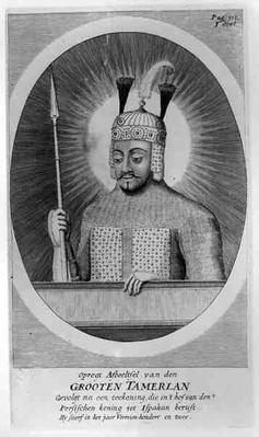 Portrait of Tamerlane the Great