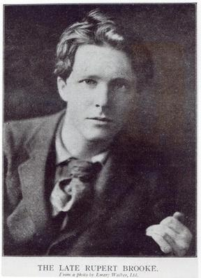 Portrait of Rupert Brooke