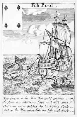 Fish Pool playing card