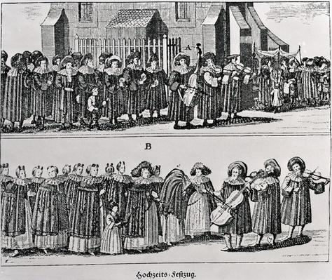 Jewish Carnival Procession