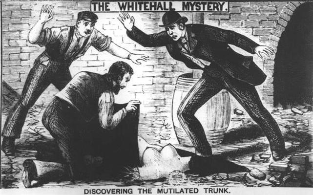 The Whitehall Mystery: Discovering the Mutilated Trunk, 1888