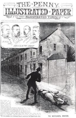The Whitechapel Mystery, from 'The Penny Illustrated Paper', 8th September 1888