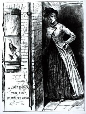 A Lost Woman, Mary Kelly, in Miller's Court, 1888