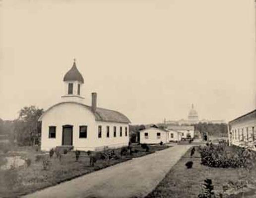 Photograph Of A Washington, DC, Hospital, 1862-1865 | Ken Burns: The Civil War