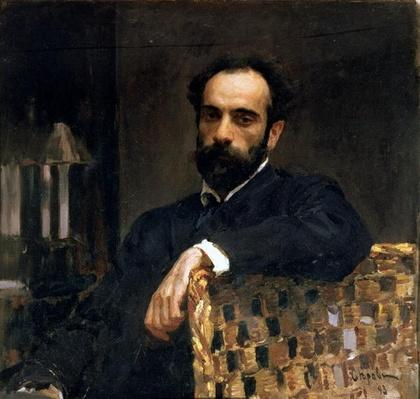 Portrait of the artist Isaak Ilyich Levitan
