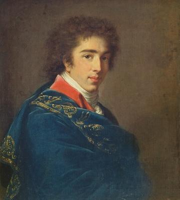 Portrait of Prince Ivan Baryatinsky, 1800