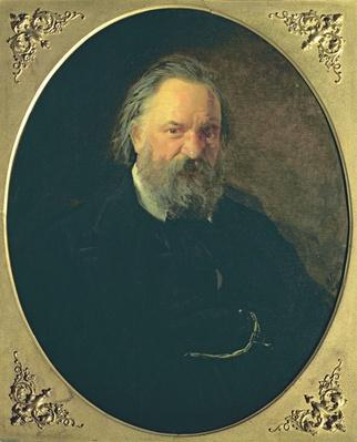 Portrait of Aleksandr Ivanovich Herzen