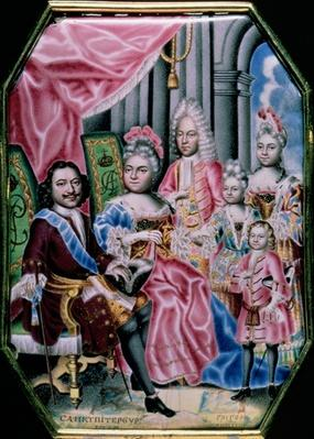 The Family of Emperor Peter I, the Great