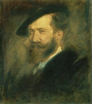 Portrait of the Artist Wilhelm Busch