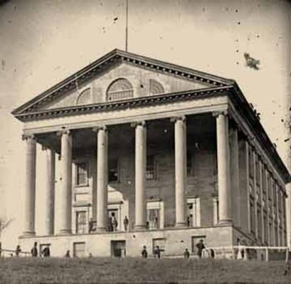 Front View of the Capitol in Richmond, VA | Ken Burns: The Civil War