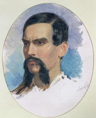 Portrait of Richard Burton, c.1861