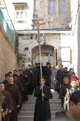 Jerusalem - Holy Sepulcure, Easter Procession | World Religions: Christianity