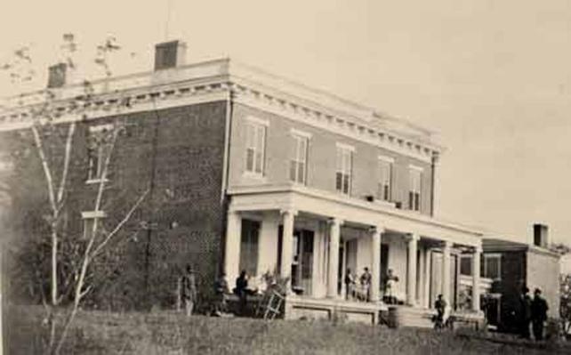 Aiken's House, James River, VA | Ken Burns: The Civil War