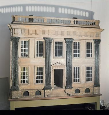 'The Great House' English doll's house, c.1750, thought to come from Cheshire or Lancashire